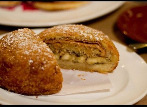 Fried Peanut butter and banana